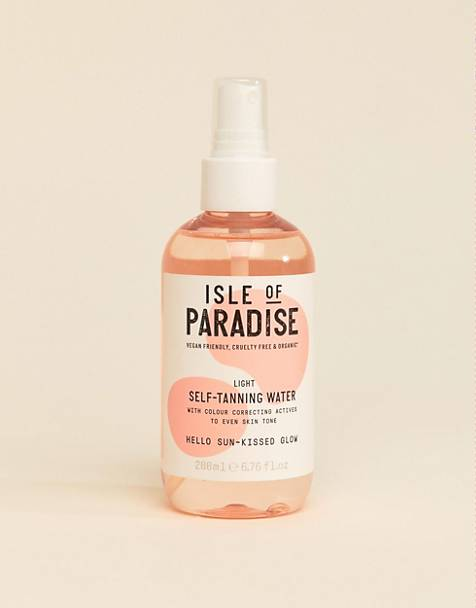 Isle of Paradise selvbrunervand - Lys 200 ml