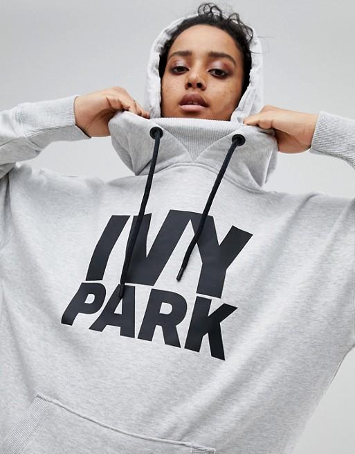Park Kapuzenpullover mit Ivy Grauer grau Logo dPw6dq