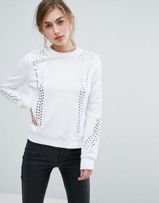 Ivyrevel Jumper With Embellishment And Rib Detail