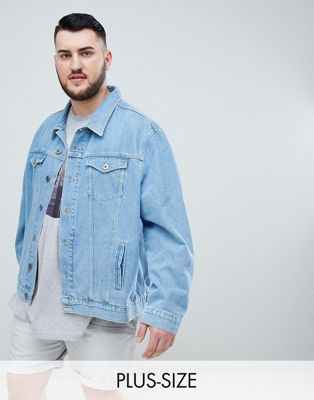 Jacamo - Denim jack in stone wash