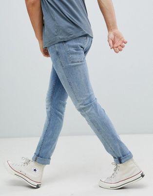 Jack and Jones Jeans Intellgience – Eng geschnittene Jeans mit 5 Taschen
