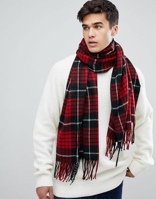 Jack & Jones Checked Scarf