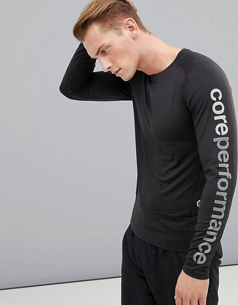 Jack & Jones – Core Performance – Langärmliges Shirt