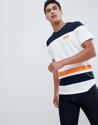 Image 1 sur Jack & Jones - Core - T-shirt avec rayures variées
