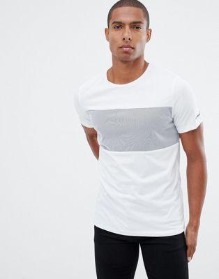 Jack & Jones - Core - T-shirt met kleurvlakken