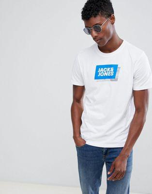Bild 1 von Jack & Jones – Core – T-Shirt mit Logo-Grafik
