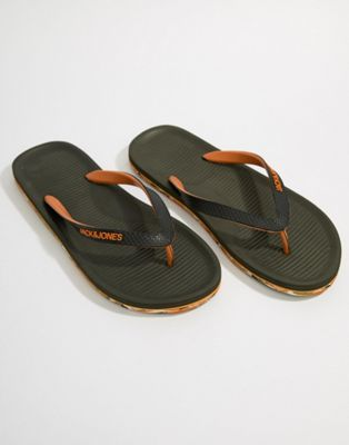 Jack & Jones Flip Flops With Moulded Sole