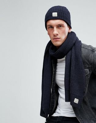 Jack & Jones Hat & Scarf Set