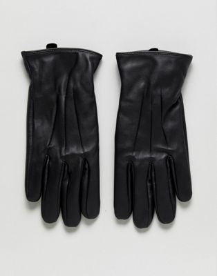 Jack & Jones Leather Gloves
