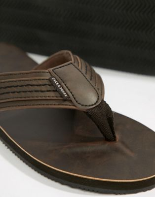Jack & Jones Leather Sandal