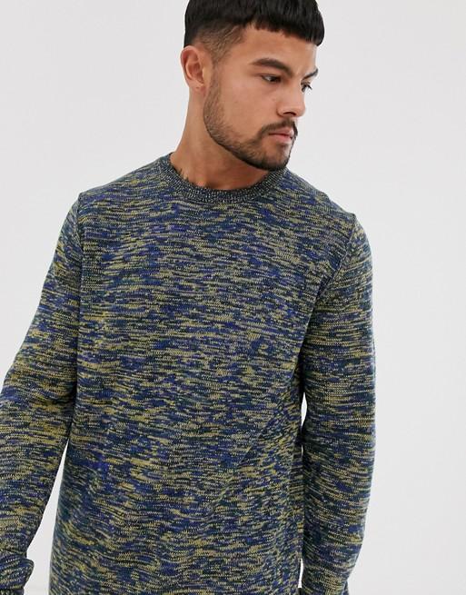 Jack & Jones – Originals – Blauer Pullover