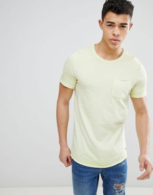 Image 1 of Jack & Jones Originals pocket t-shirt with oil wash