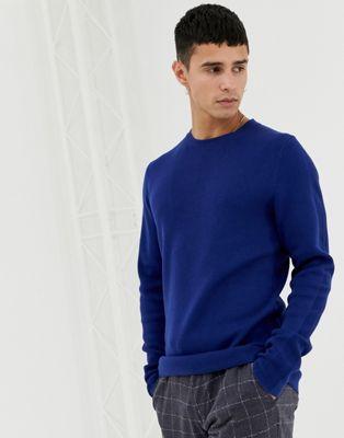Jack & Jones Premium Knitted Jumper With Straight Edge Hem