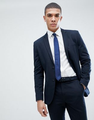 Image 1 of Jack & Jones Premium slim fit suit jacket in navy