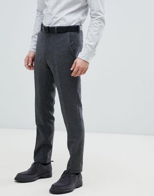 Jack & Jones Premium smart pant in slim fit with wool mix