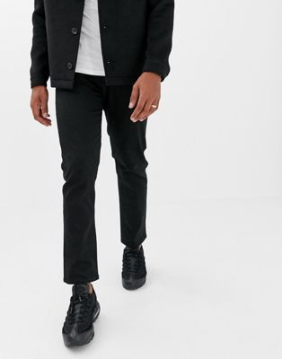 Jack & Jones regular fit jeans in black denim
