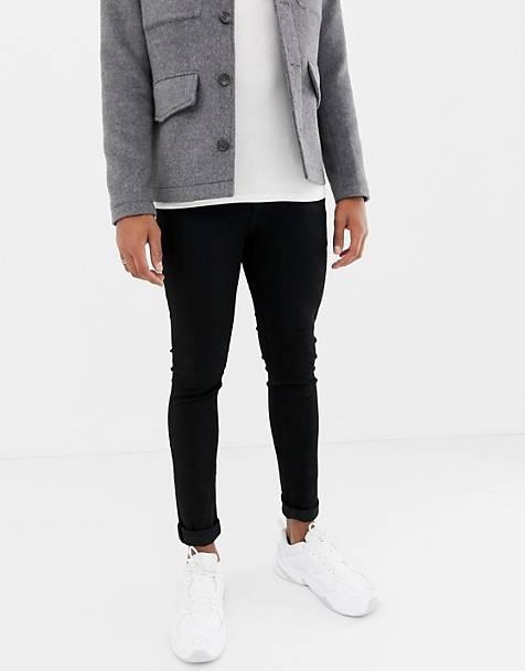 34af357cf1d076 Jack   Jones skinny fit jeans in black