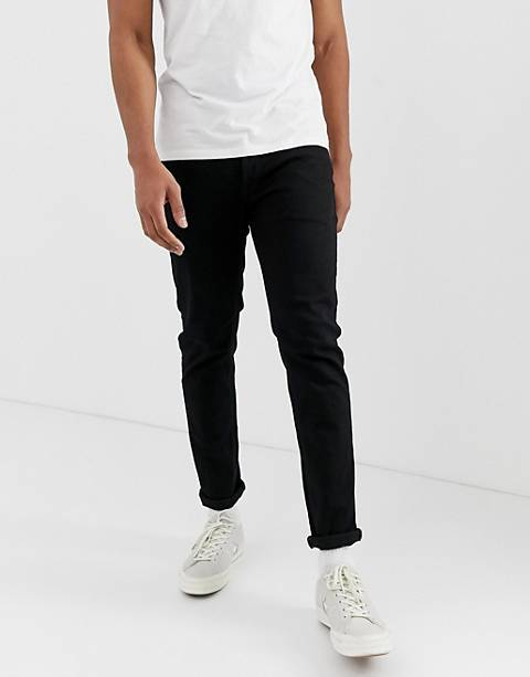 Jack & Jones slim fit jeans in black wash