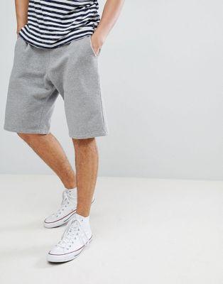 Jack Wills Balmore  sweat shorts in grey marl suit 1