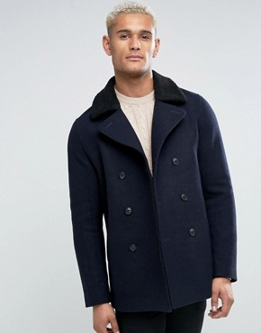Short Mens Pea Coat - All The Best Coat In 2017