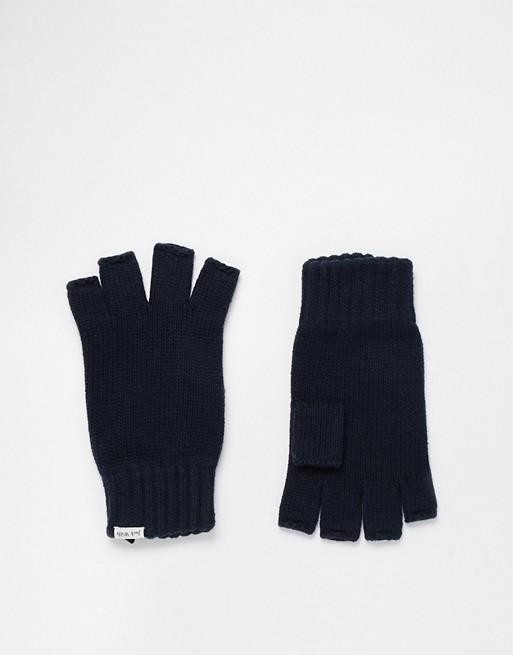 Image 1 of Jack Wills Gibside Fingerless Gloves