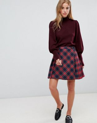 Jack Wills True Tartan Check Skirt