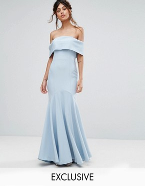 Powder blue dress asos marketplace
