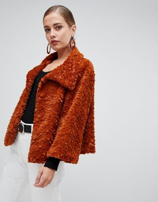 Image 1 of Jayley Luxurious Curly Fur Jacket