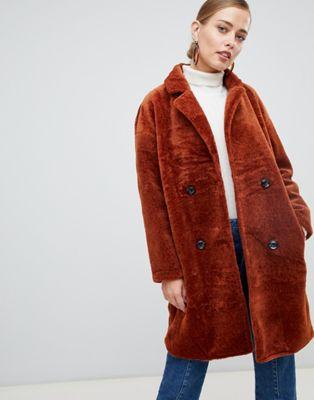 Jayley - Manteau à effet croisé