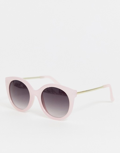 Image 1 of Jeepers Peepers lilac plastic frame cat eye