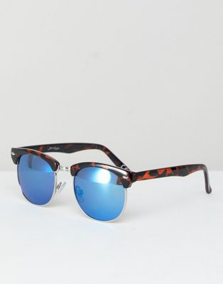 Jeepers Peepers Retro Sunglasses In Tort