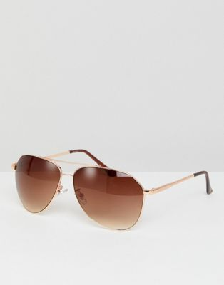 Jeepers Peepers Round Sunglasses In Gold