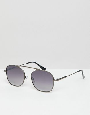 Image 1 of Jeepers Peepers square sunglasses in silver