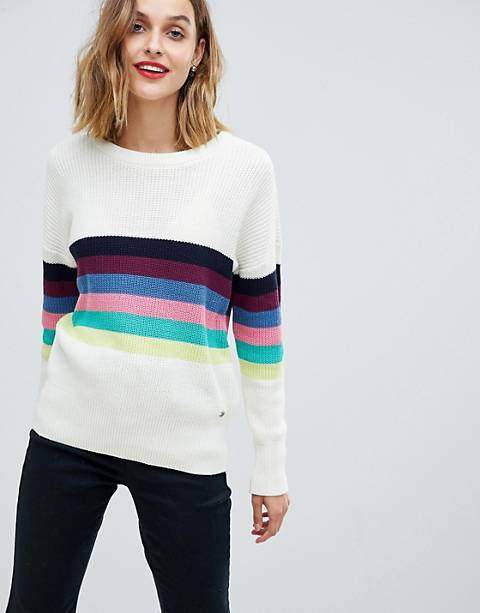 Jersey a rayas arcoíris de Esprit