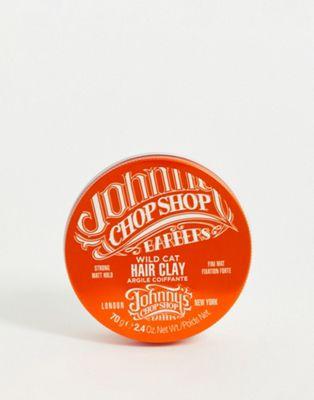 Johnny's Chop Shop - Argile mate forte pour cheveux