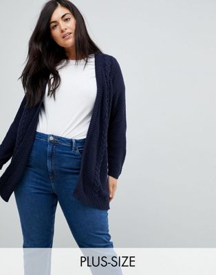 Junarose Cable Knit Cardigan