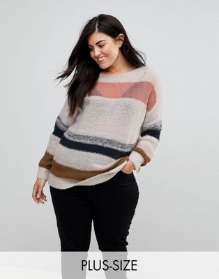 Junarose Striped Knit Jumper