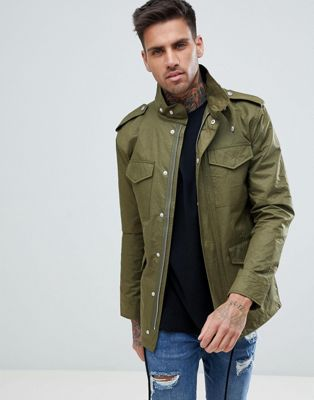 Just Junkies 4 Pocket Military Jacket