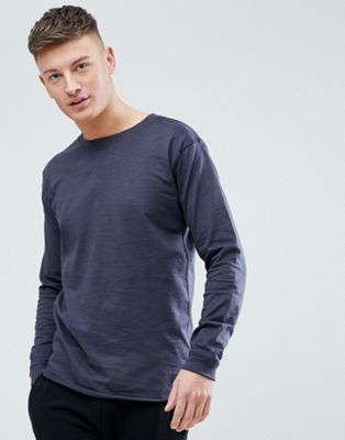 Just Junkies Crew Neck Long Sleeve Top