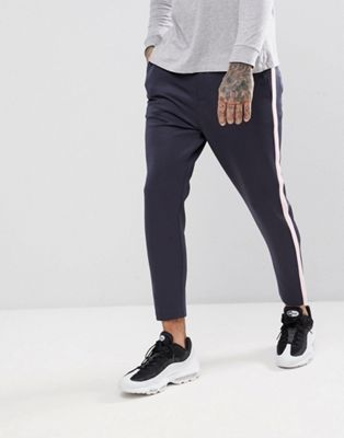 Just Junkies Joggers With Side Stripe