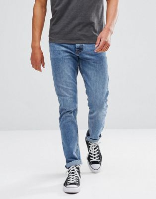 Just Junkies Straight Fit Jeans in Light Blue Wash