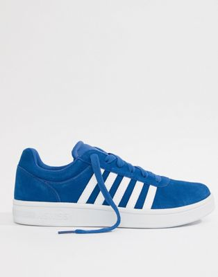 K-Swiss Court Cheswick SDE Trainers In Blue