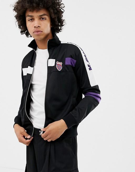 K-Swiss Oakland Track Jacket In Black