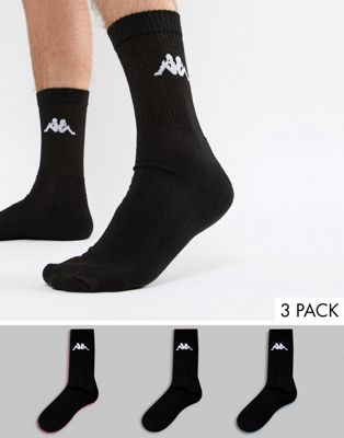 Kappa 3 Pack Sock