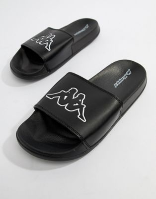 Kappa logo slide in black