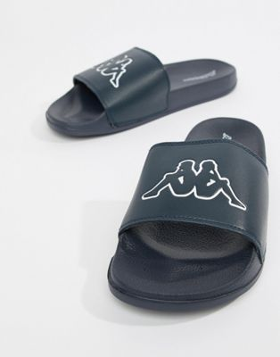 Kappa logo slide in navy