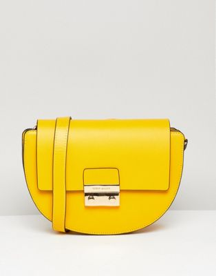 Karen Millen rounded mini satchel bag
