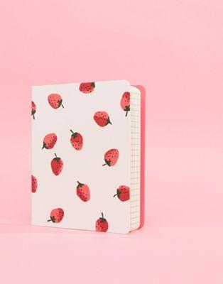 Kate Spade Concealed Strawberry – Anteckningsbok