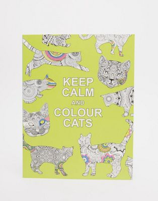 Keep Calm & Colour Cats – Målarbok