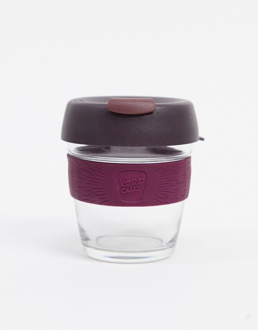 KeepCup Alder Brew 6oz  purple reusable cup